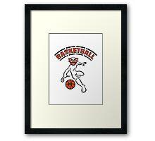 Basketball sport Framed Print