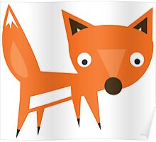 The Funky Fox Poster