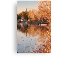 Quiet River Evenings Canvas Print