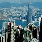 The Peak Hong Kong by sandysartstudio
