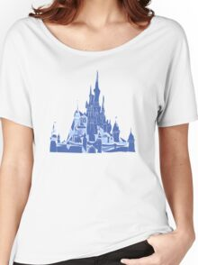 Disney Castle Women's Relaxed Fit T-Shirt