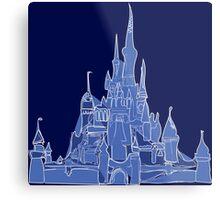 Disney Castle Metal Print