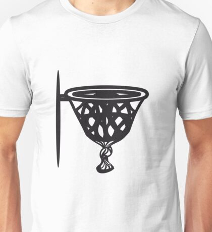 Basketball basket sports funny Unisex T-Shirt