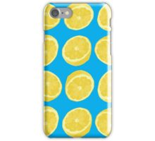 Fresh lemons iPhone Case/Skin
