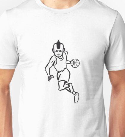 Basketball basket sports players Unisex T-Shirt