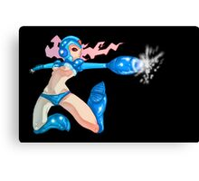 Mega Girl Canvas Print