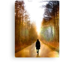 Winter & a place I love Canvas Print