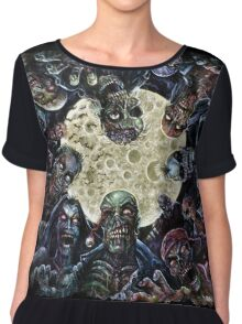 Zombies Attack (Zombie horde) Chiffon Top