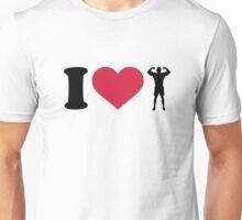 I love Bodybuilding Unisex T-Shirt