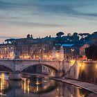 Ponte Vittorio Emanuele II by Roberto Bettacchi