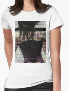 Woman In Corset Womens Fitted T-Shirt