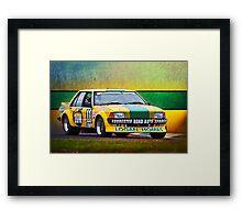 Garry Willmington XD Falcon Framed Print