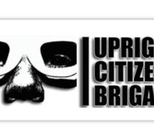 upright citizens brigade  Sticker