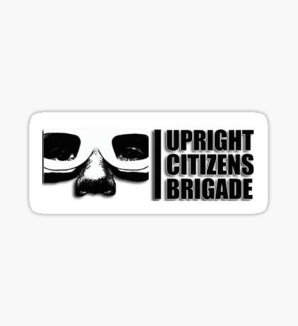 upright citizens brigade  Sticker