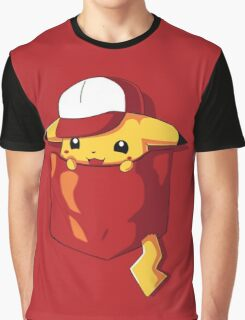 Pikachu in pocket Graphic T-Shirt