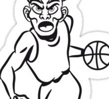 Basketball basket combat sports Sticker