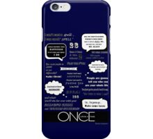 OUAT Quotes iPhone Case/Skin