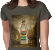 Girl in National Costume at Mehadia, Caras-Severin County, Romania, early 19th century Womens Fitted T-Shirt