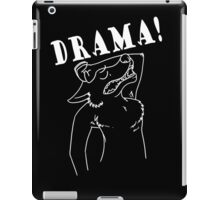 Oh You Furries (White Lines) iPad Case/Skin