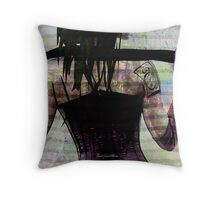 Woman In Corset Throw Pillow