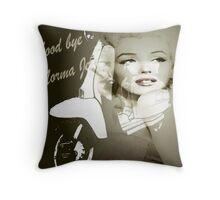 Norma jean Throw Pillow
