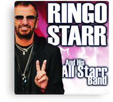 And His All Star Band - Ringo star Canvas Print