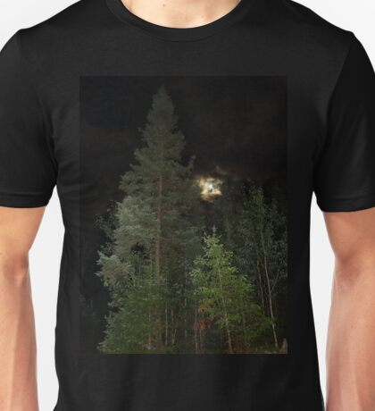 Balsam Fir against the night sky Unisex T-Shirt