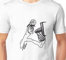 Basketball win basket sports Unisex T-Shirt