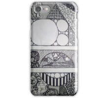 Zentangle of Imperfection iPhone Case/Skin