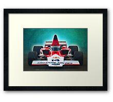 Formula 5000 Lola T332 Framed Print