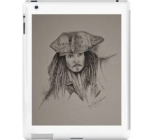 Jack Sparrow - B&W iPad Case/Skin