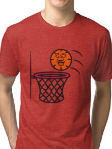 Basketball basket pleasure sports Tri-blend T-Shirt