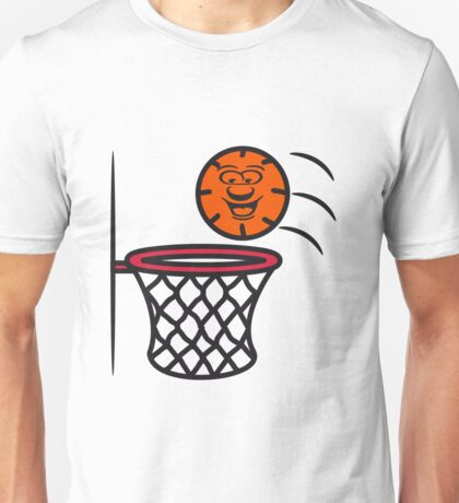 Basketball basket pleasure sports Unisex T-Shirt