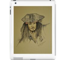 Jack Sparrow  iPad Case/Skin