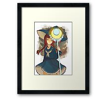 Wadanohara and the Great Blue Sea Framed Print