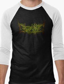 Gazcore Green Logo Men's Baseball ¾ T-Shirt
