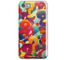 1000 Questions iPhone Case/Skin