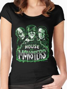 House of Monsters Women's Fitted Scoop T-Shirt