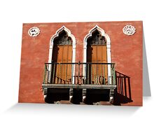 All About Italy. Venice 11 Greeting Card