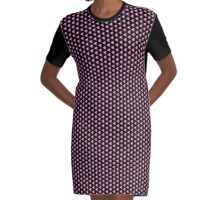 Magic Of Tri - Pink Graphic T-Shirt Dress