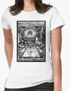 THE REVELATION Womens Fitted T-Shirt