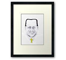 Silvio Berlusconi Framed Print