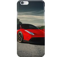 Custom Ferrari 458 iPhone Case/Skin