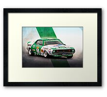 Jim Richards AMC Javelin Framed Print