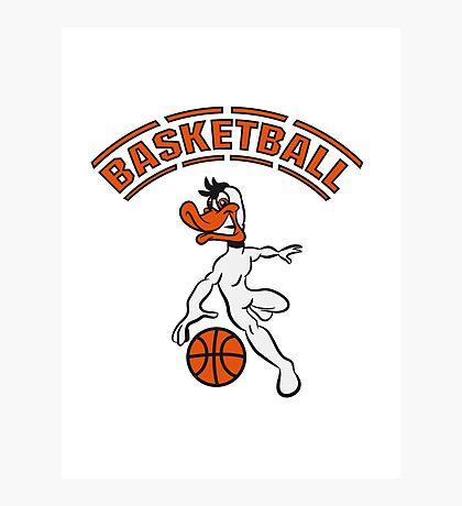 Basketball warriors player ball sports Photographic Print