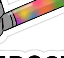 Just Doob It Sticker