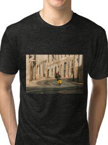 Vespa curve  Tri-blend T-Shirt