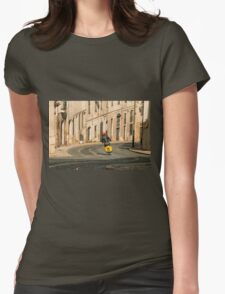 Vespa curve  Womens Fitted T-Shirt