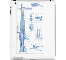 M60 Blueprint mk1 iPad Case/Skin