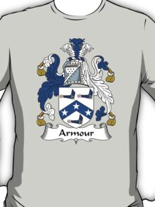 Armour Coat of Arms / Armour Family Crest T-Shirt